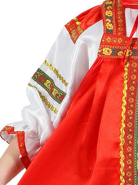 предпочел русский сарафан праздничный фото костюмированная